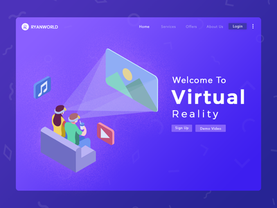 virtual reality new morden video music game reality virtual technology