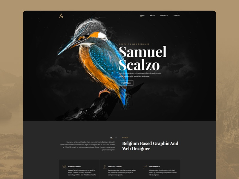 Home web page samuel scalzo