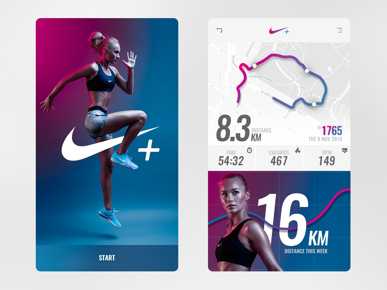 Nike app concept scalzodesign hd