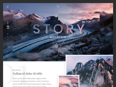 Mountain story website
