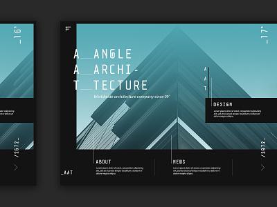 Architecture web design «samuel scalzo» daily ui ui architecture interface interaction web design