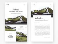Iceland Minimal Blog