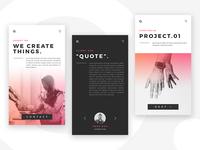 Mobile Screen O.Design agency