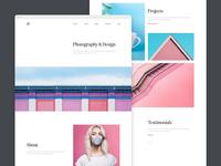 Minimal Web Portfolio