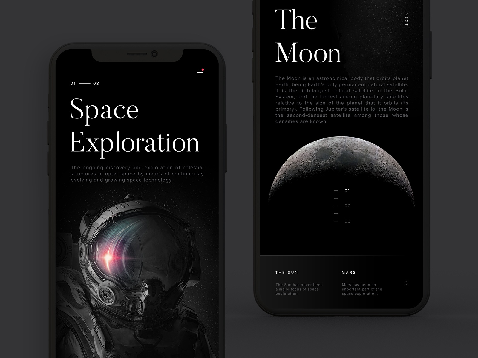 Space exploration mobile hd