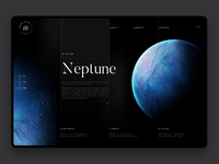 Space exploration neptune hd
