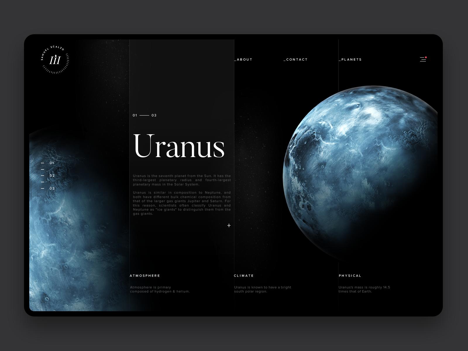 Space exploration uranus hd