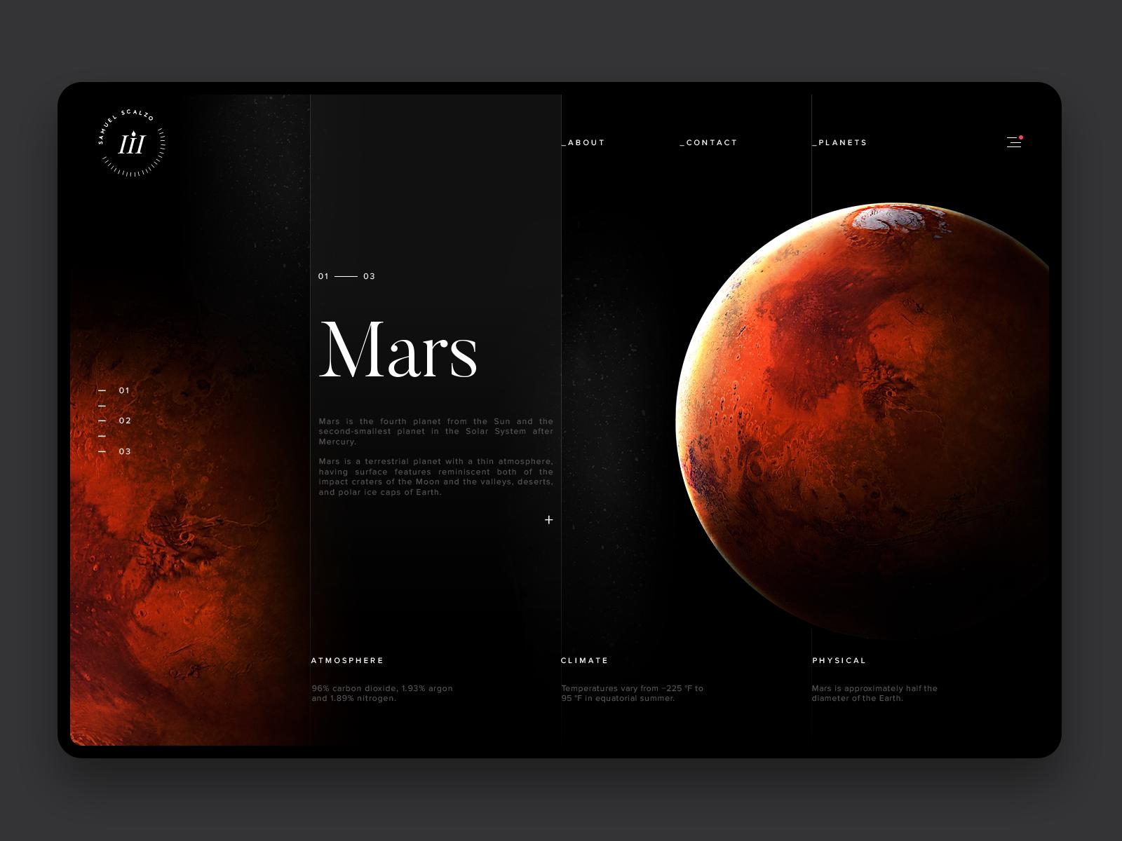 Space exploration mars hd