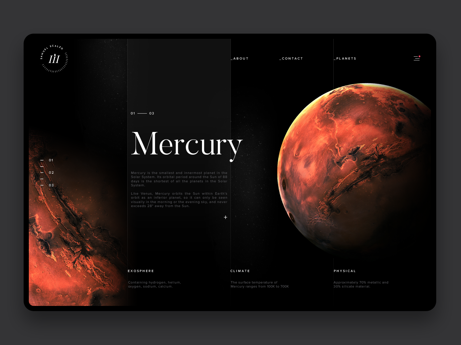 Space exploration mercury hd