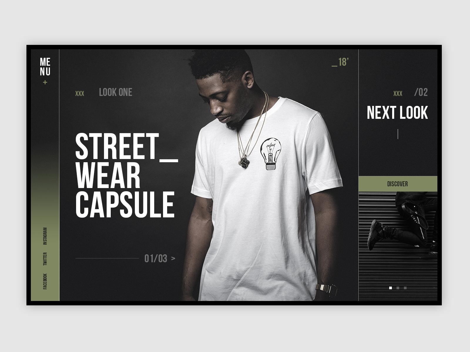 Streetwear ui hd