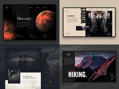 #Top4Shots from 2018 topshot web web design scalzodesign «samuel scalzo» ui
