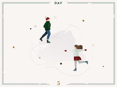 Day 5🎄⛸ Ice skating!