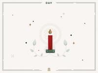 Day 8🎄✨Christmas Candle