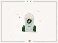 Day 10🎄🌟knock knock