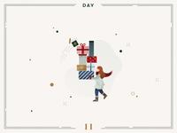 Day 11🎄🎁 Christmas presents