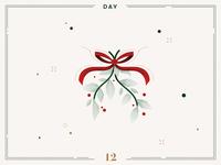 Day 12 🎄😘 Mistletoe Kisses