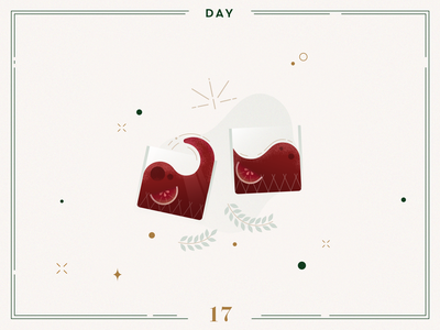 Day 17🎄🍷Christmas Punch cocktail drinks punch christmas punch ilustracion navidad christmas decoration design vector navidad advent calendar xmas minimalist illustration christmas illustration christmas