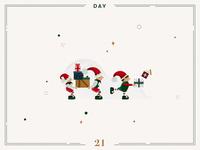 Day 21🎄🎅🏻 Christmas Elves
