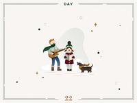 Day 22🎄🎶Christmas carols