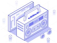 Radio-2.5D