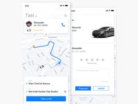 taxi-hailing app
