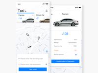taxi-hailing app-II