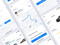 taxi-hailing app-integration