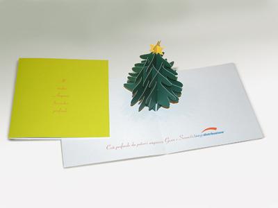 Burgo Distribuzione - Biglietto Natale 2005