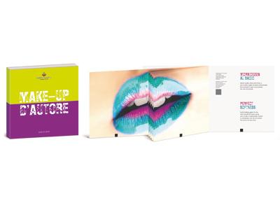 Grafiche Moretti skin beauty bellezza mode fashon modella make-up nobilitazioni brochure