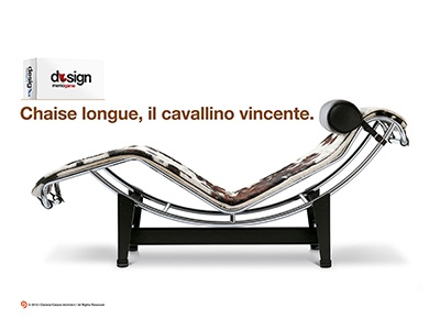 Design memo game fantastic design relax black cavallino longue chaise