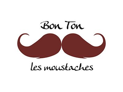 Bon Ton les Moustaches pulizia rinfrescante bustina marrone brown francese moustaches