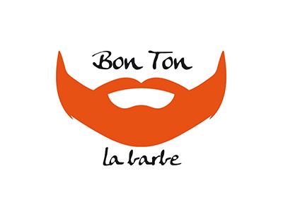 Bon Ton La Barbe pulito fresco viso peli barba orange francese