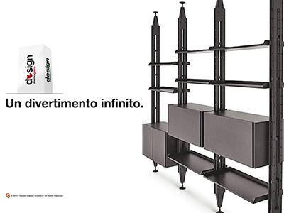 Design memo game simple raffinata semplice ripiani penisola black modulare design libreria scaffale