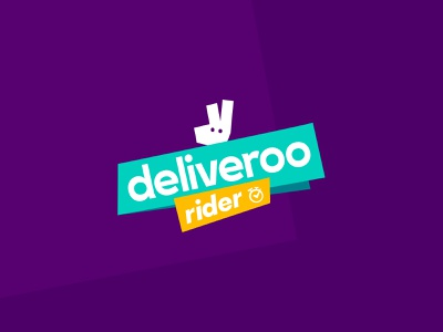 Deliveroo Rider #2 - Details, logo and interface  🛵🌮 art direction design art direction concept interaction ux design ui design illustration animation branding interface typography game turquoise purple delivery app mobile ui mobile game art fun mobile first