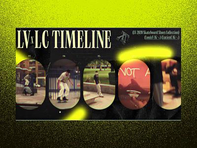 LV Lucien Clarke's Signature Concept #2 🛹- Slideshow timeline skater experiments 3d animation video 3d drag and drop skateboard luxury branding webdesign ux design website ui design interface typography animation concept interaction art direction