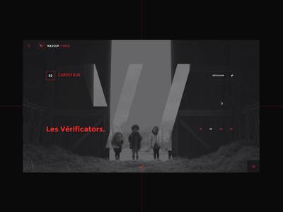 Wassup Prod #1  🎬 - Interactive slideshow