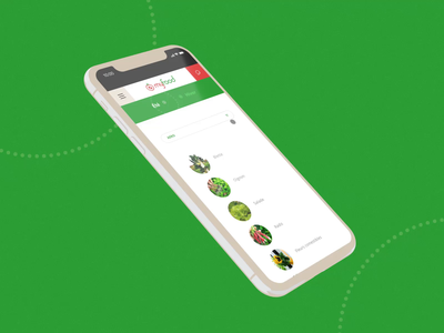myfood #2 🍅- Menu / Get in touch / Scroll / Search opening