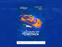 ELMS #2 - Official Race Poster / Monza  🏁 🇮🇹