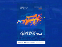 ELMS #3 - Official Race Poster / Barcelona  🏁 🇪🇸