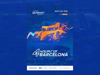 ELMS #3 - Official Race Poster / Barcelona  🏁 🇪🇸