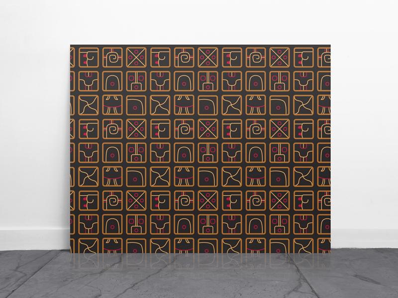 Mayan pattern main