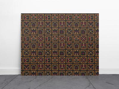 Mayan Tribal Pattern