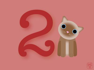 Number Cat - 2