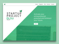 Daily UI 003 | Landing Page