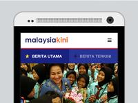 Malaysiakini for Mobile