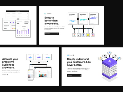 Programmai — Product Shots shots product landing page websites agency together app interaction typography design clean uiux ui style ux ui
