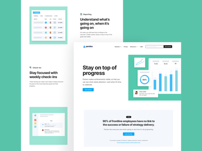 Perdoo — Pages perdoo web landing page agency branding together interaction typography design clean uiux ui style ux ui