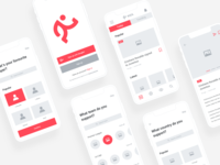 KICK iOS Wireframe