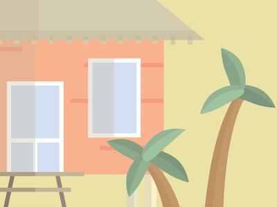 Beach House beachhouse literal band design poster illustration