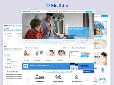 Medlife - Redesign proposal medlife